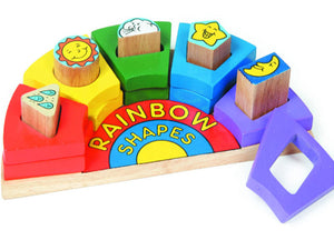 Benho Rainbow Shapes
