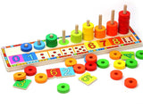Montessori - Rainbow Number Donut