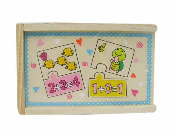 Animal Addition Puzzle Box