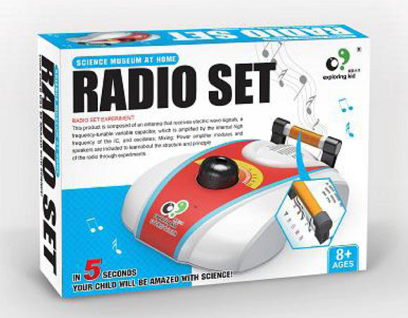 Science Museum at home - Radio Set