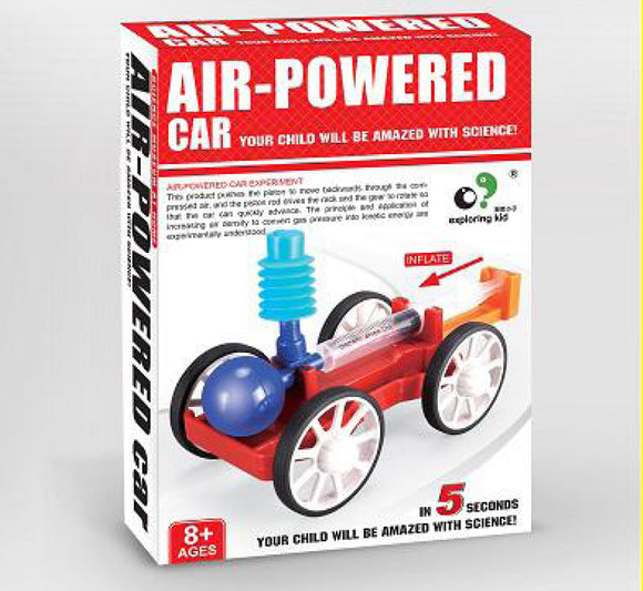 Science Museum at home - Air-Powered Car