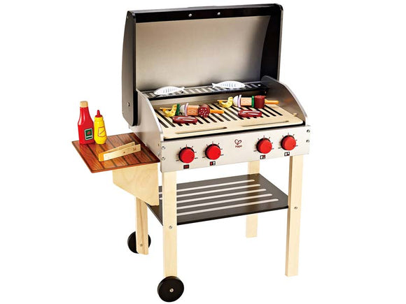 Hape Wooden Gourmet - Gourmet Grill with Food