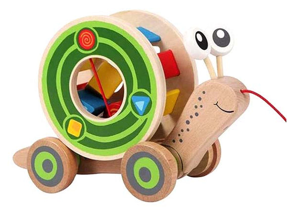 Hape - Pull and Play Shape Sorter