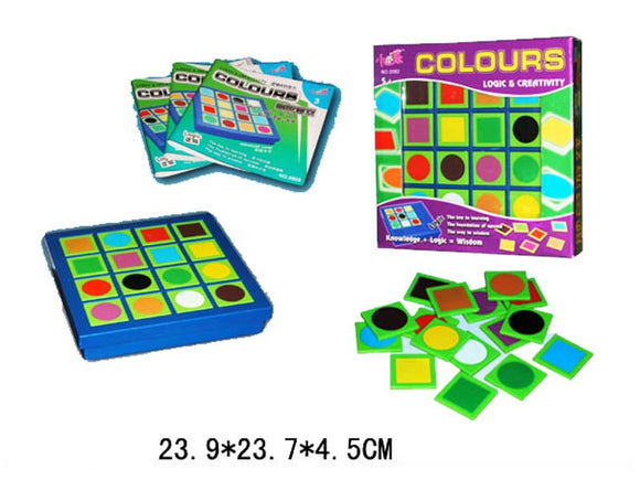 Colours & Logic Game