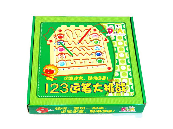 123 Magnetic Colour Counting Game