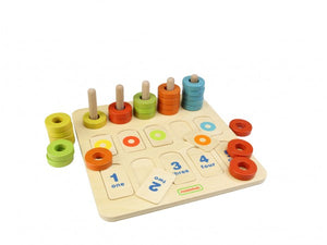 Masterkidz - Counting and Colors Learning Board
