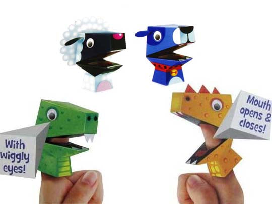 Make-Your-Own Finger Puppets