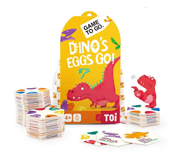 TOI GAME TO GO - Dino's Eggs Go