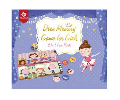 Pinwheel Dice Memory Game For Girl
