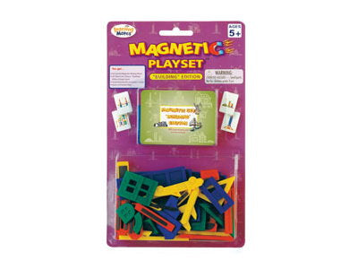 Magnetic Playset - Buildings
