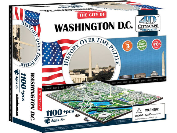 4D Cityscape Time Puzzle - Washington D.C.