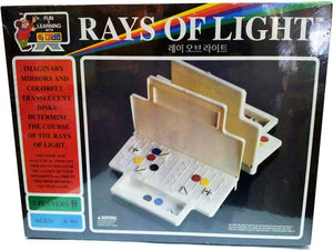 Rays of light board game