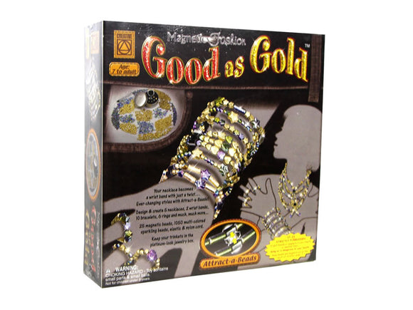 Magnetic fashion - good as gold