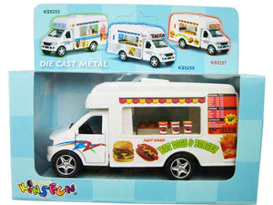 "5"" FAST FOOD TRUCK Pull Back Car"