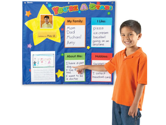 Star Student Pocket Chart