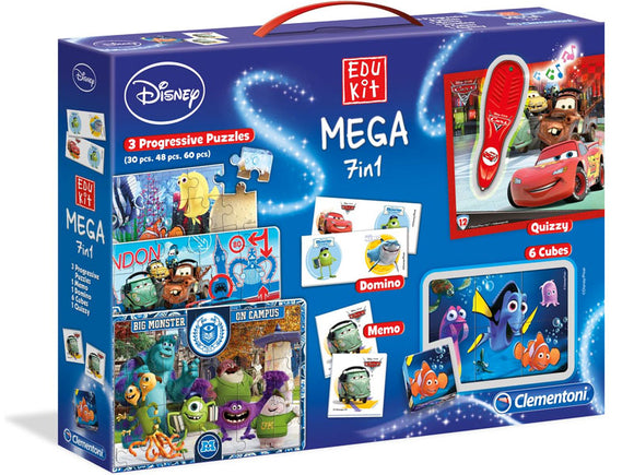 EduKit Mega 7 in 1: Disney for Boys
