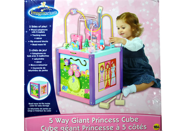 5 Way Giant Princess Multi-function Cube