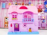 Happy Family - Little Mimi Pink Doll House