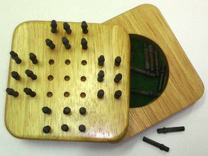 Wooden Mini Game - Solitaire
