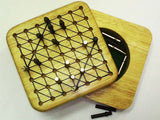 Wooden Mini Game - Chinese Checkers
