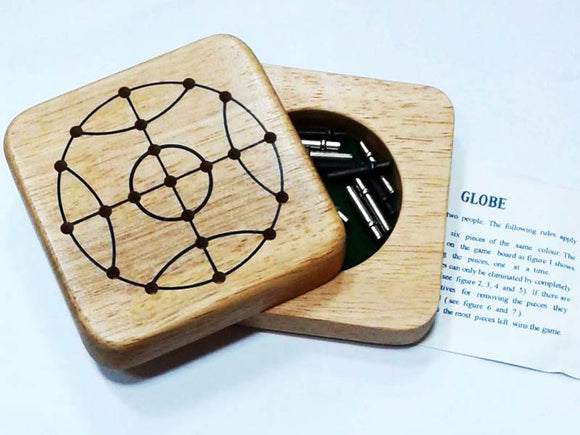 Wooden Mini Game - Globe