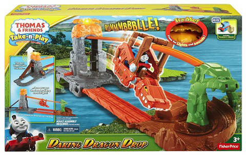 Thomas & Friends Daring Dragon Drop Playset