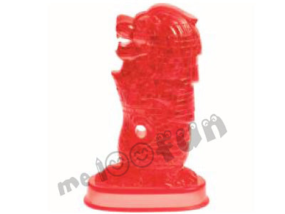 3D Merlion Puzzle - Red