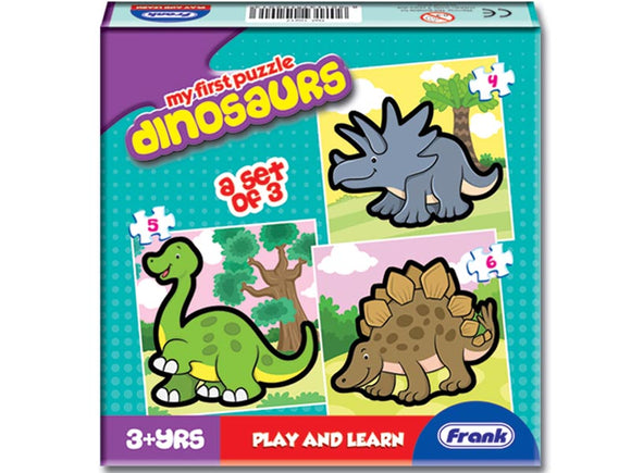 First Puzzles - Dinosaurs