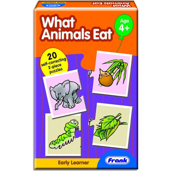 Early Learner - What Animals Eat