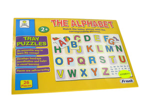 Tray puzzles (The alphabet)