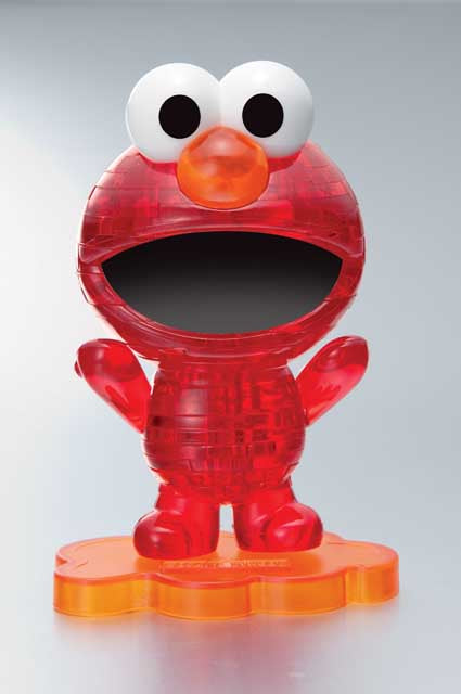 3D Crystal Puzzle - ELMO