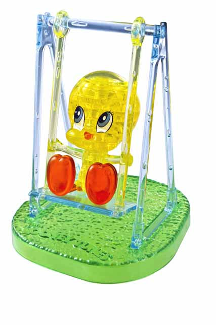 3D Crystal Puzzle - Baby Tweety