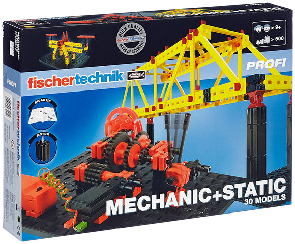 Fischertechnik - Mechanic + Static
