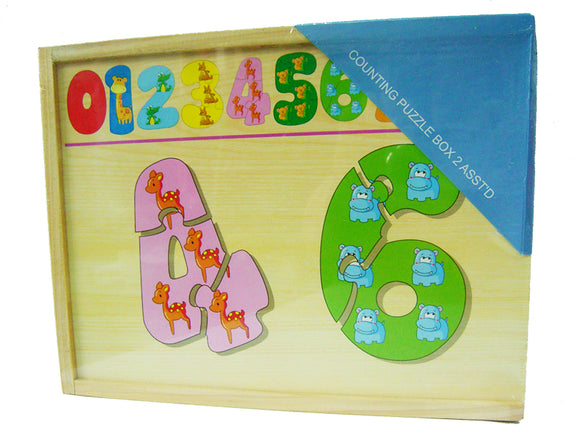 Counting Puzzle Box