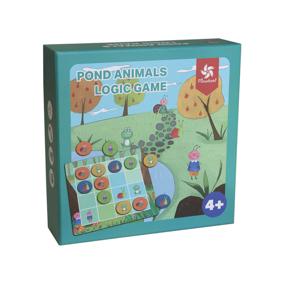 Pinwheel - Pond Animals Logic Game