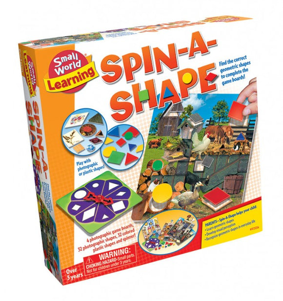 Get ready for school - Spin a Shape