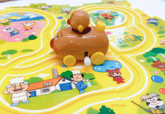 ANPANMAN - Mini Car with puzzle track