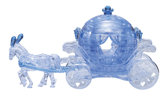 3D Crystal Puzzle - Carriage