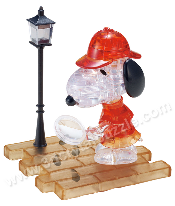 3D Crystal Puzzle - Snoopy Detective