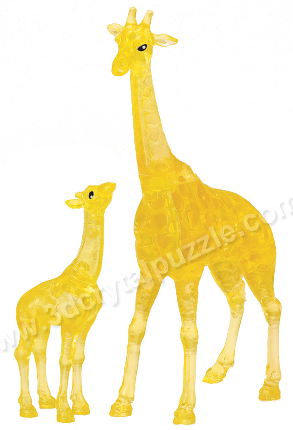 3D Crystal Puzzle - Giraffe