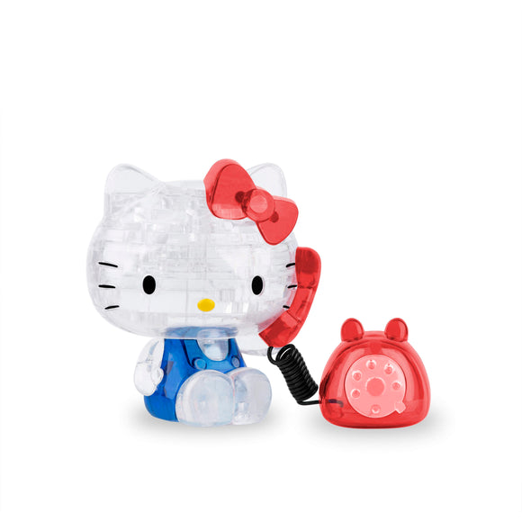 3D Crystal Puzzle - Hello Kitty w/phone