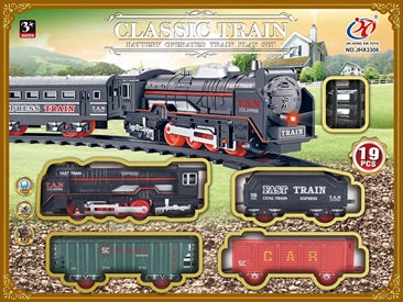 CLASSIC TRAIN PLAY SET (BATTERY OPERATED)