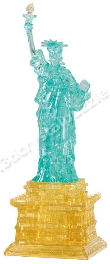 3D Crystal Puzzle - Statue of Liberty