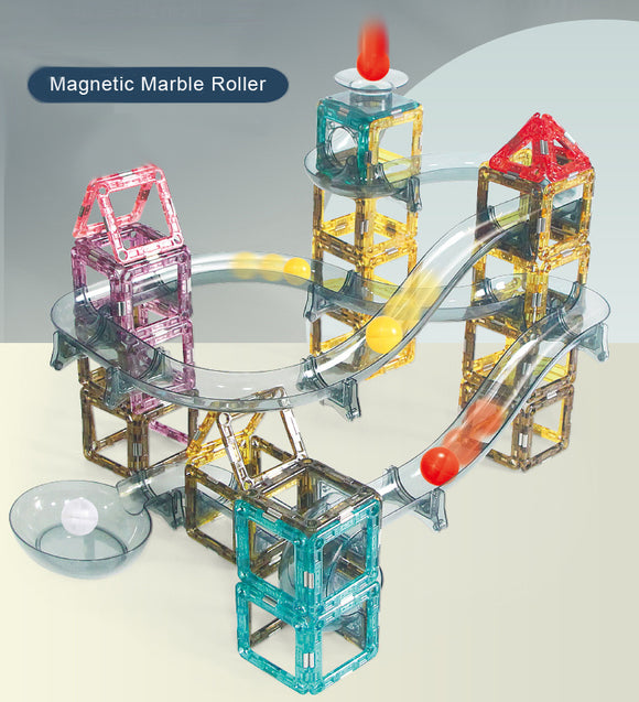 Magnetic Marble Roller