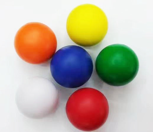 63MM PU Sponge Decompression Ball