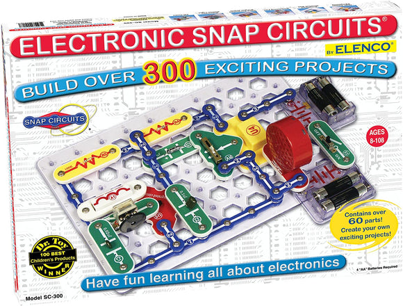 Snap Circuits® Classic SC-300 Electronics Exploration Kit
