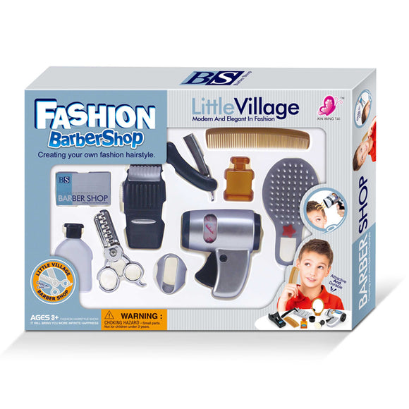 Little Village Barbershop Hairdressing toy