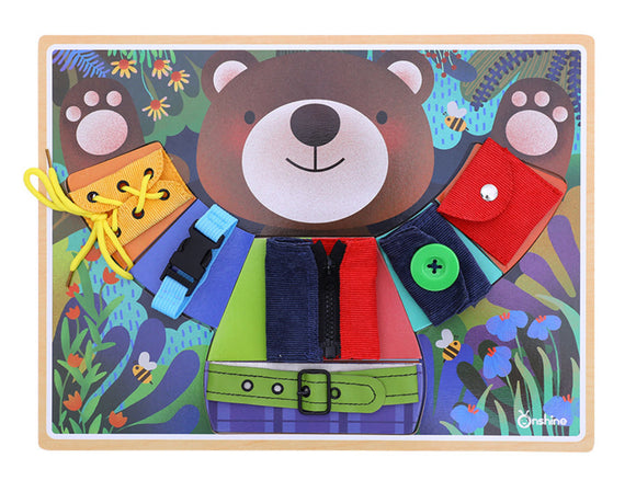 Onshine Little Bear Dress Puzzle