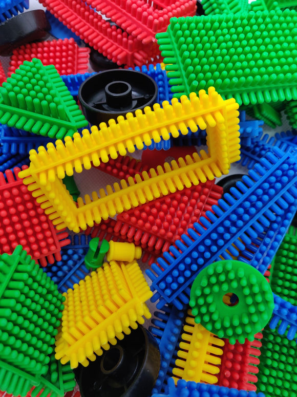 Me100fun Bristle Blocks (70pcs)