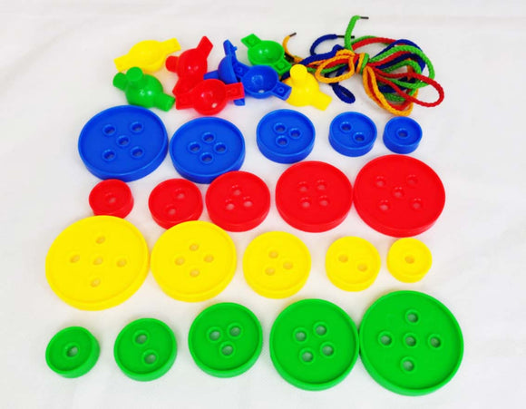 Me100fun Construction Blocks - Color Button